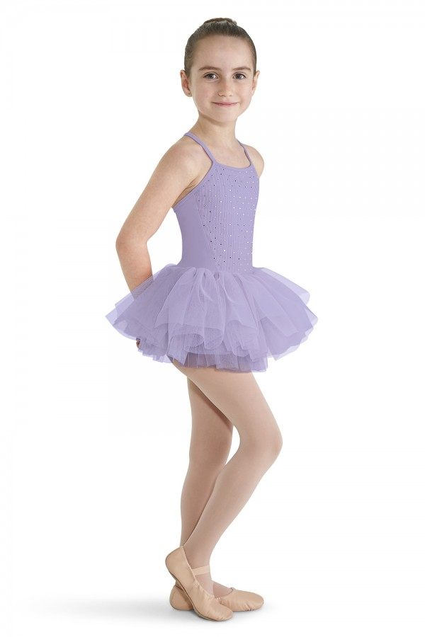 image - CRINKLE MESH FRONT CAMI Children's Dance Leotards