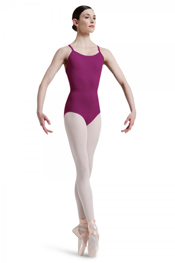 image - Mirella Square French Lace Racer Back Leotard Women's Dance Leotards
