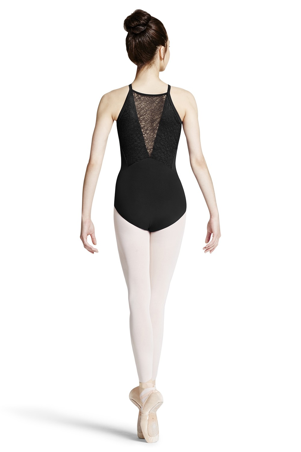 Lace Vee Back Camisole Leotard Children's Dance Leotards