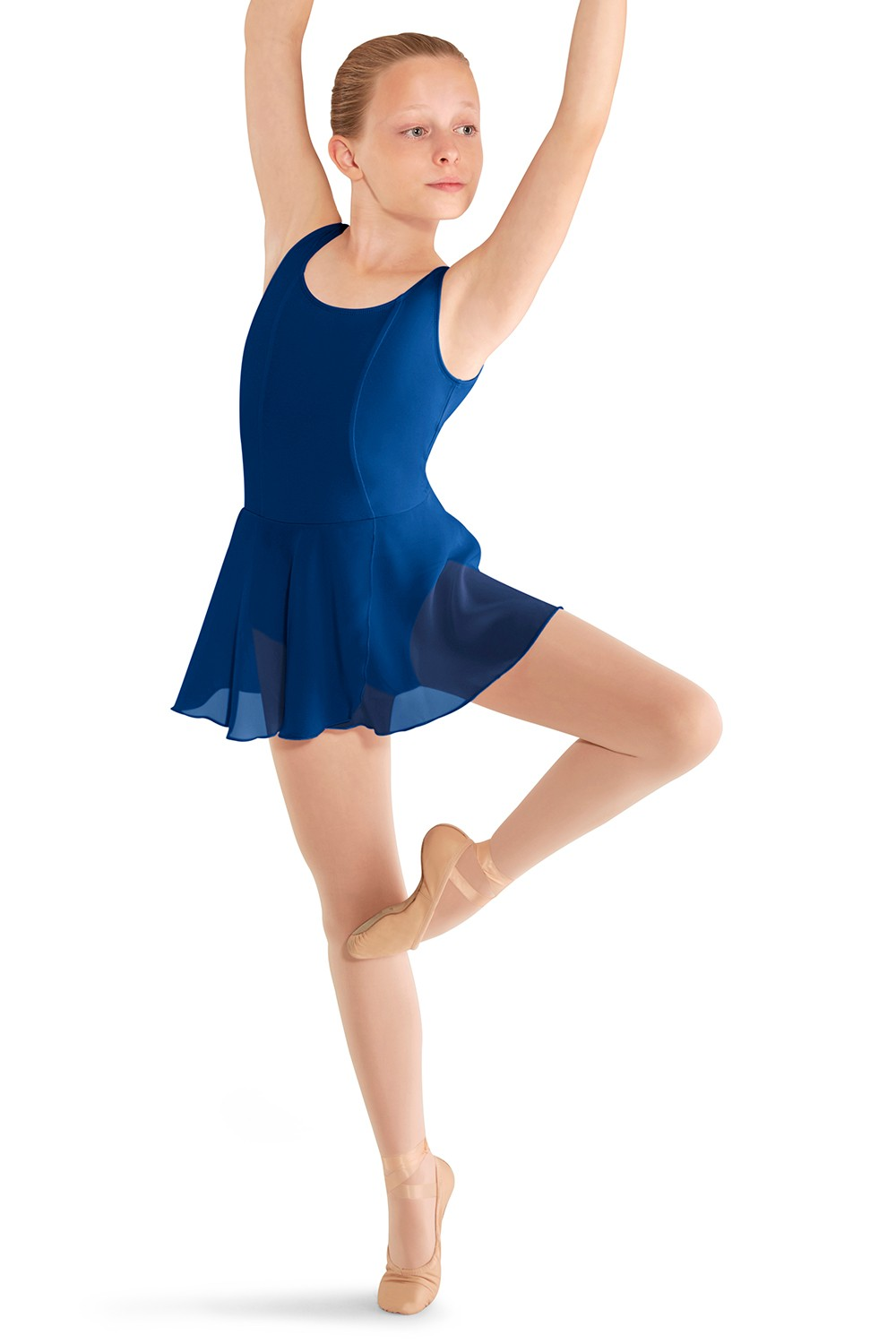 Justaucorps Sans Manches - Jupe Portefeuille Children's Dance Leotards