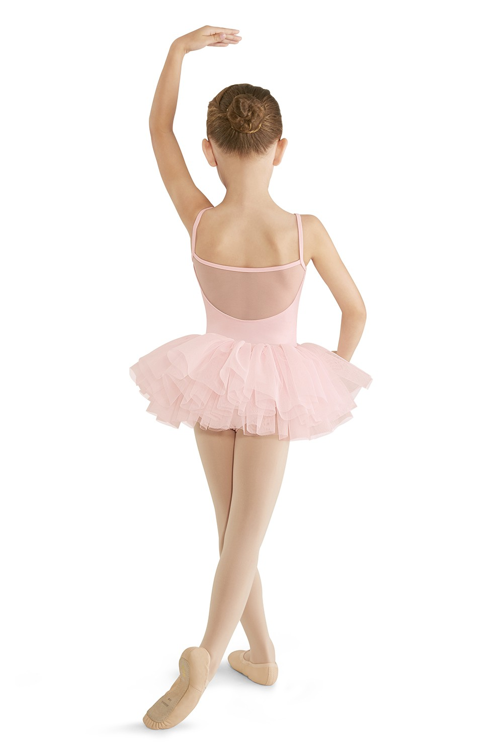 Robe Tutu À Bretelles Fines Avec Maille Girls Skirted Leotards