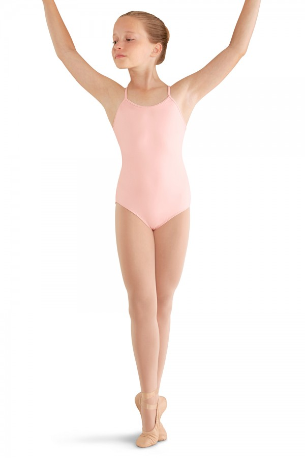 image - Twin Twist Back Cami Leo Children's Dance Leotards