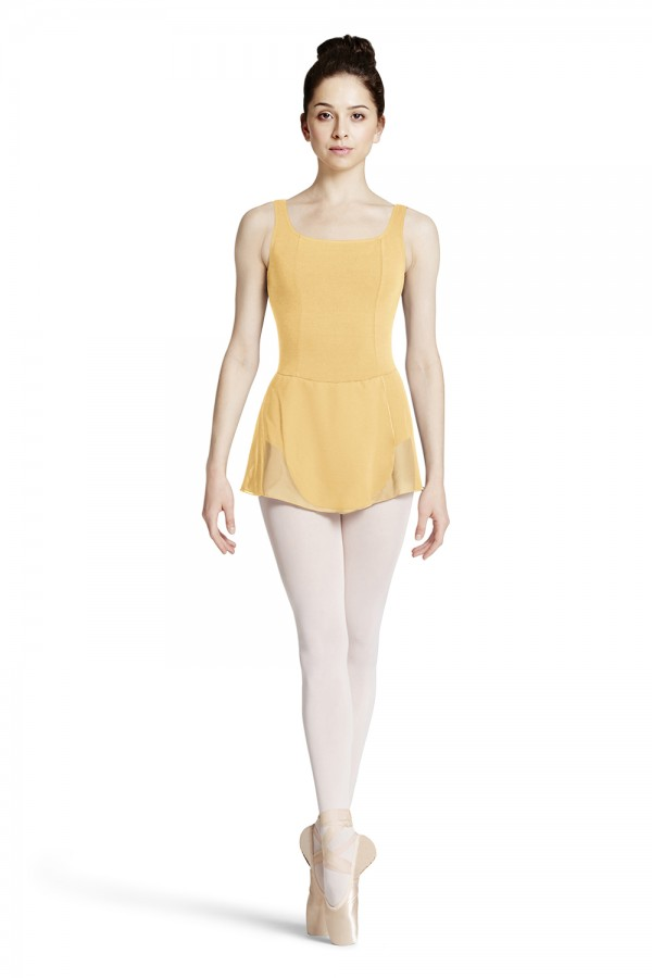 image - WRAP SKIRTED TANK LEOTARD Women's Dance Leotards