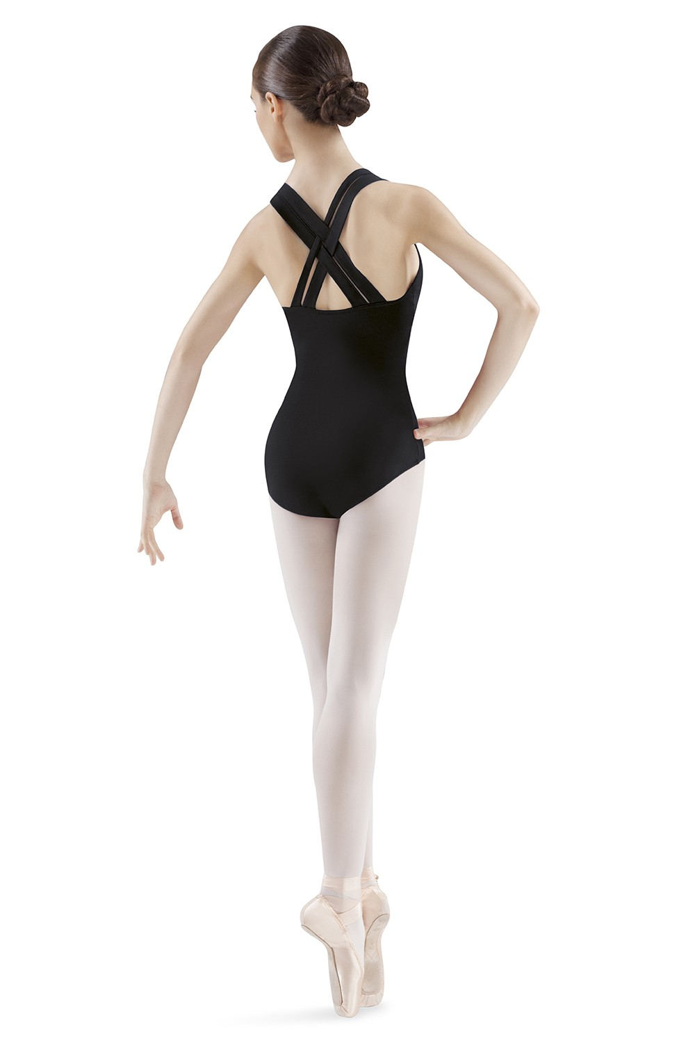 Interlaced Strap Leotard Women's Dance Leotards