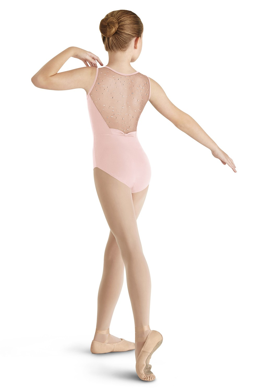 Justaucorps Sans Manches, Nœud Dans Le Dos Children's Dance Leotards