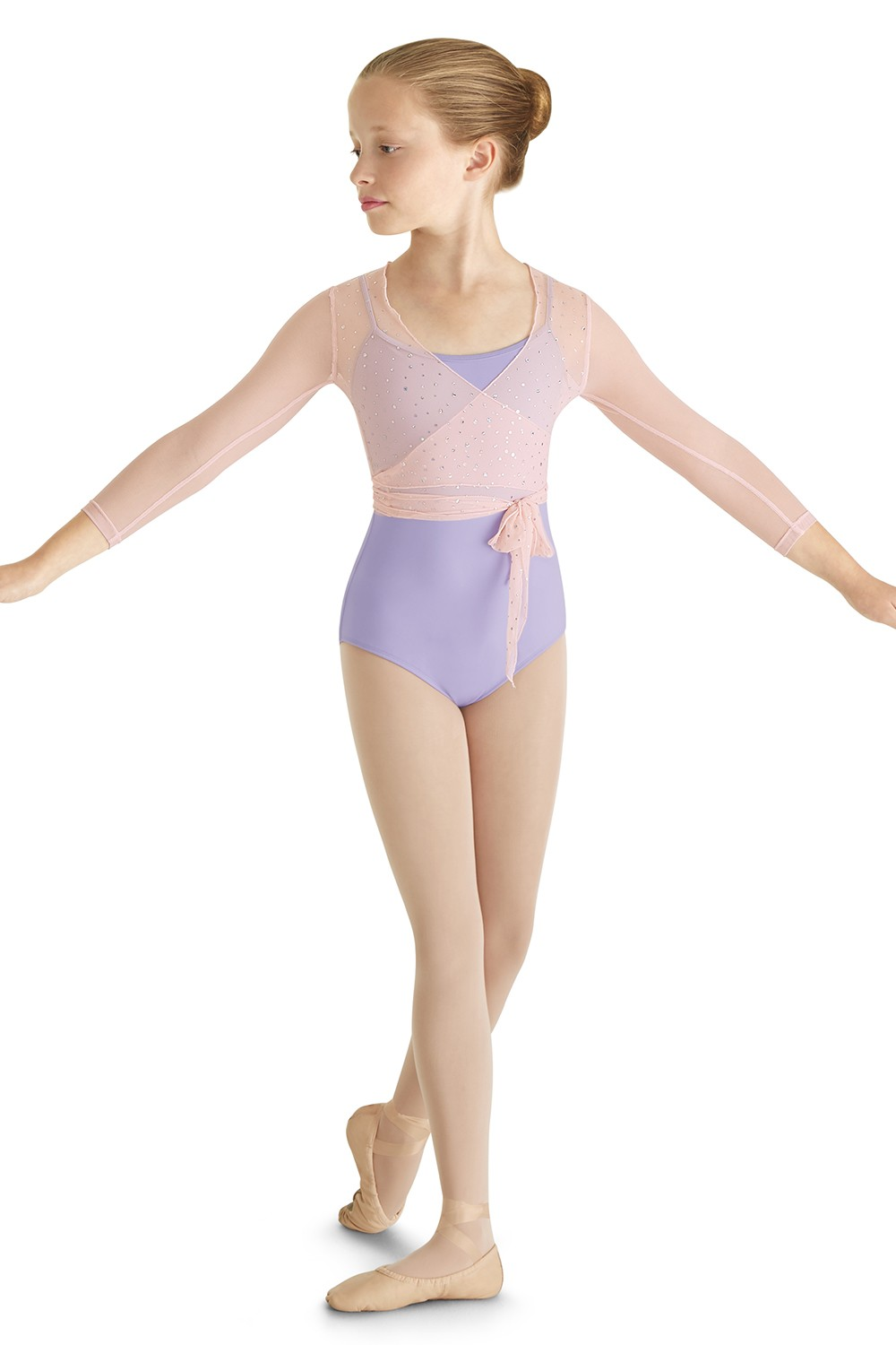 Mirella Wrap Top  Children's Dance Tops