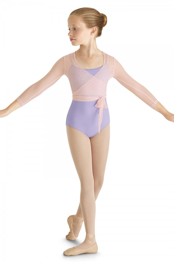 image -  MIRELLA WRAP TOP  Children's Dance Tops
