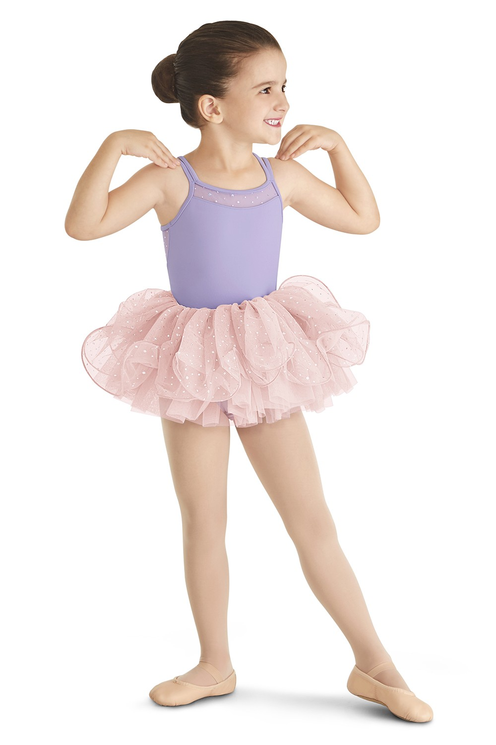 Wire Hem Tutu Skirt Children's Dance Skirts