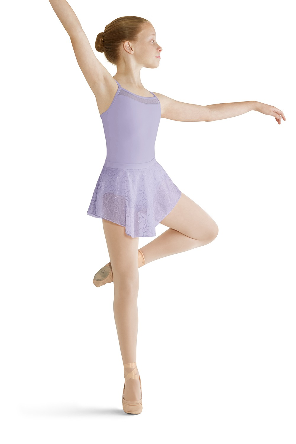 Back Panel Camisole Leotard Children's Dance Leotards