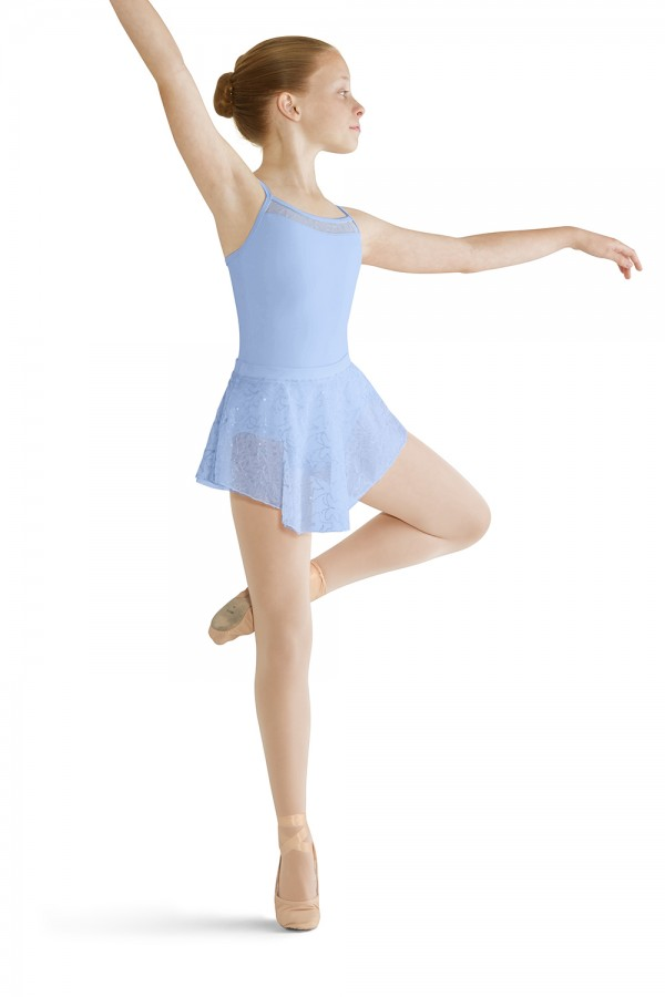 image - Back Panel Camisole Leotard Children's Dance Leotards