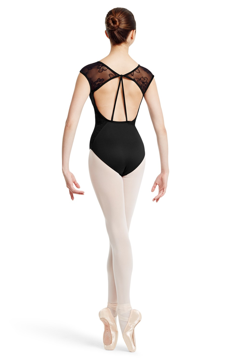 Mirella Mesh Sleeve Leotard Women's Dance Leotards