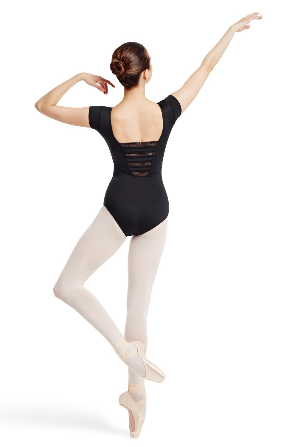 Stretch Cap Sleeve Leo Women's Dance Leotards