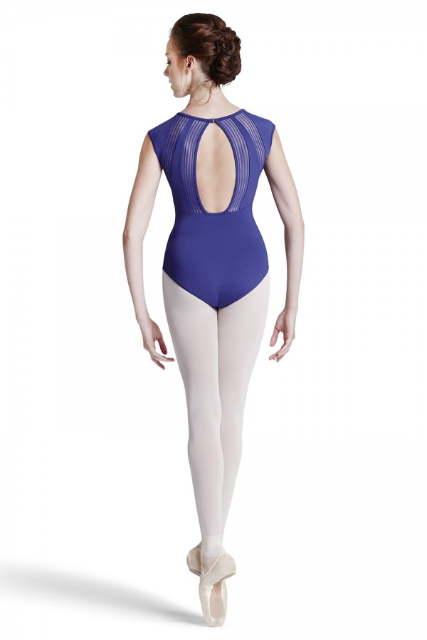 image - Lace Capsleeve Leo Women's Dance Leotards