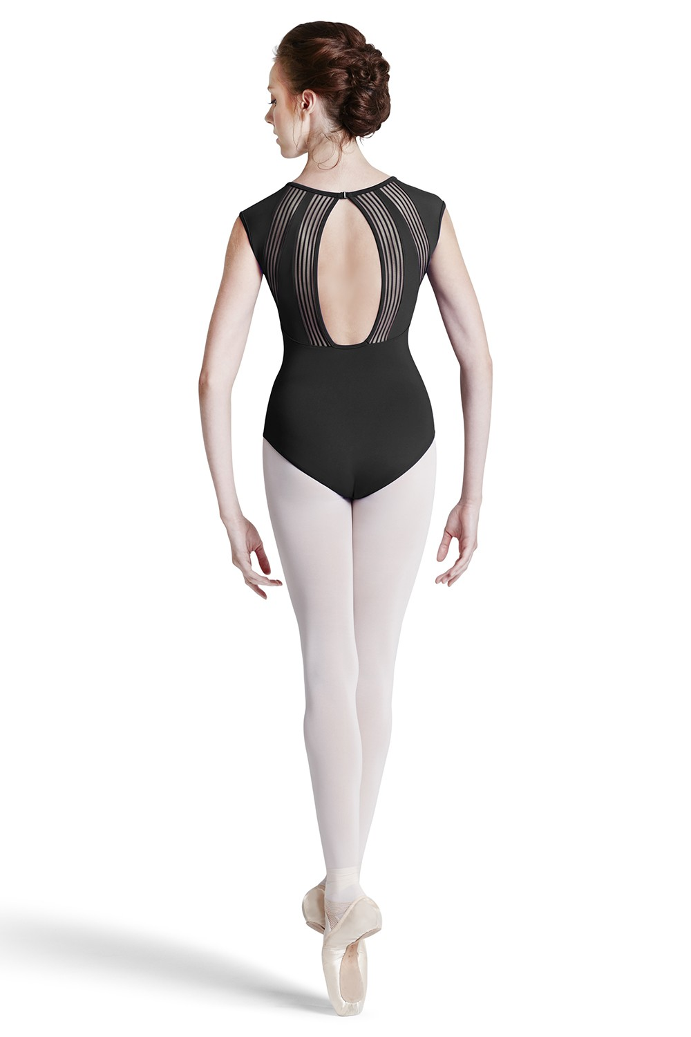 Body Con Maniche Ad Aletta E Apertura A Goccia Sul Retro Women's Dance Leotards