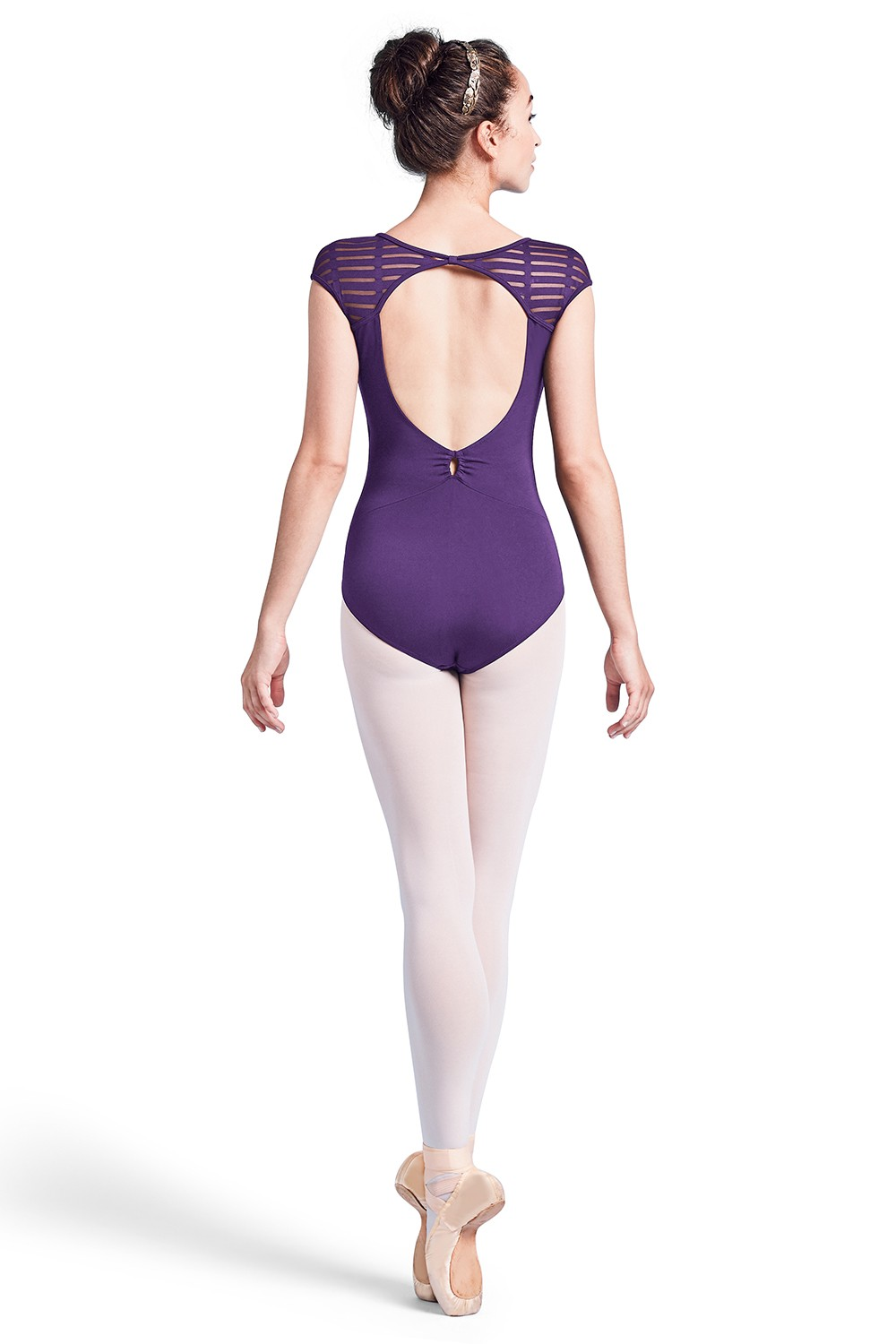 Keyhole Back Cap Sleeve Leotard - Tween Children's Dance Leotards