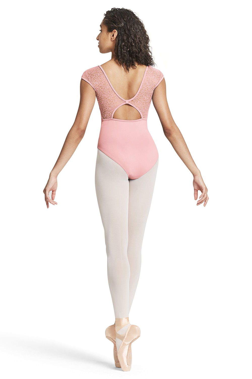 Mesh Cap Sleeve Leotard Women's Dance Leotards