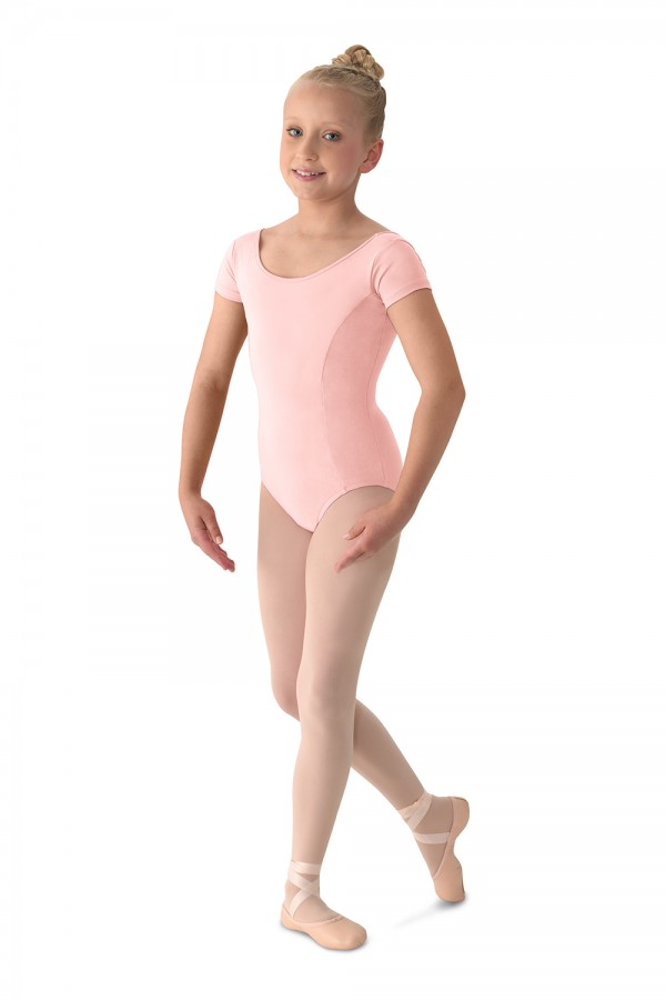 image - Cap Sleeve Leotard Girls Short Sleeve Leotards
