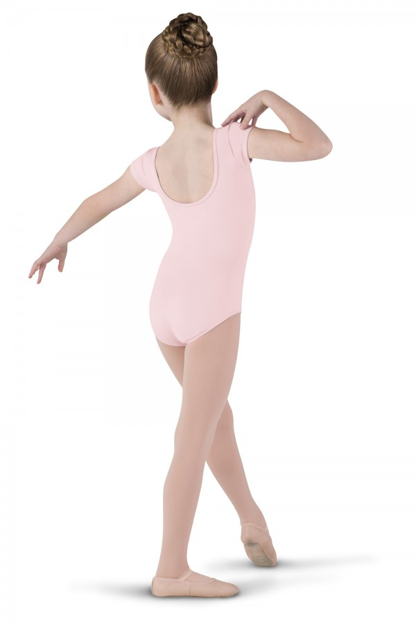 image - Diamante Cap Sleeve Children's Dance Leotards