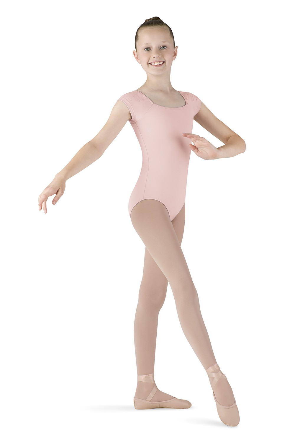 Cap Sleeve Keyhole Leotard Children's Dance Leotards
