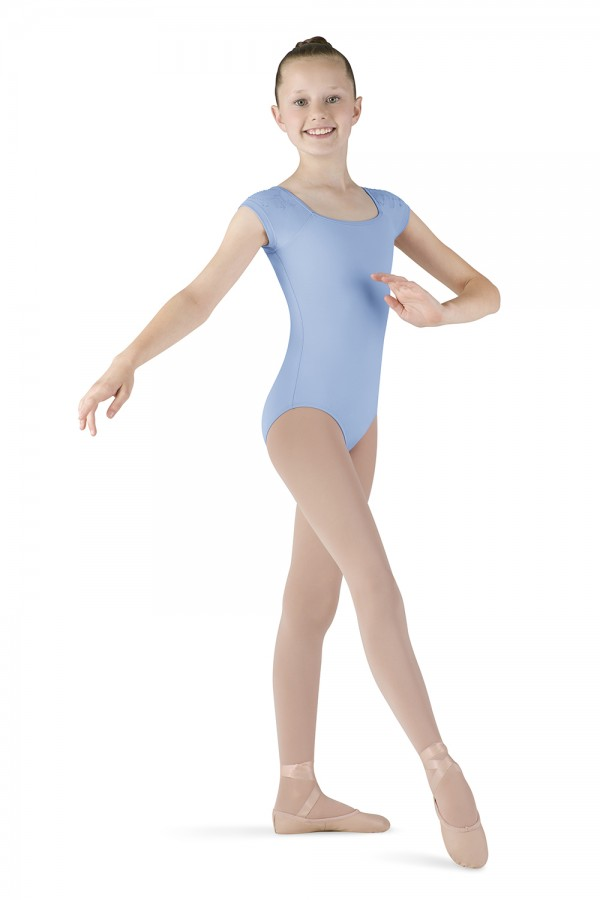 image - Cap Sleeve Keyhole Leotard Children's Dance Leotards