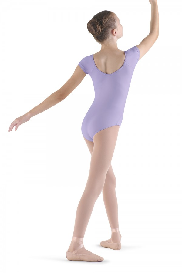 image - Frill Front Cap Sleeve Children's Dance Leotards