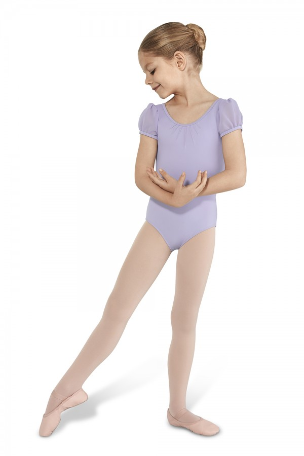 image - Puff Cap Sleeve Leotard Children's Dance Leotards