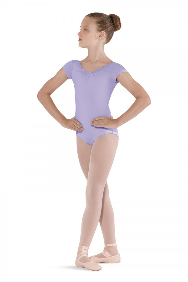 image - 3 Bow Back Cap Sleeve Leotard Children's Dance Leotards