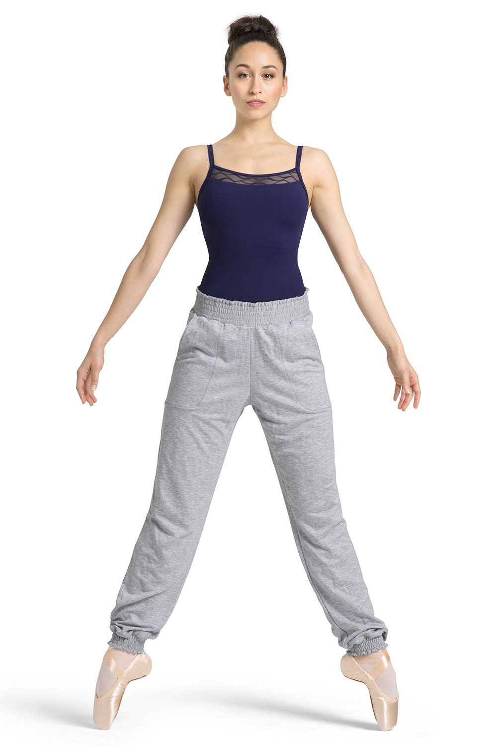 Shirred Hem Pant Women's Dance Pants