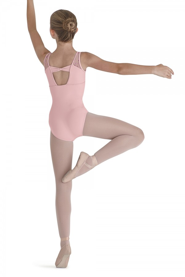 image - BOW BACK TANK LEO Children's Dance Leotards