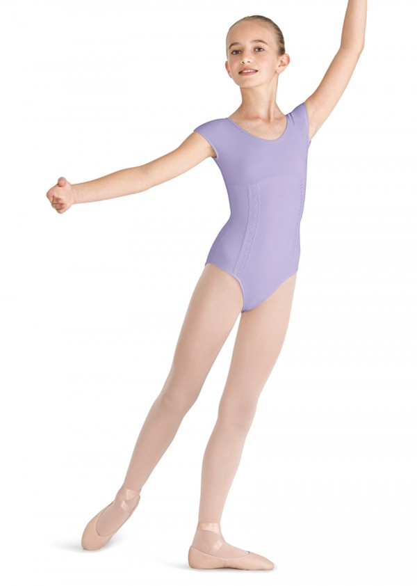 image - X Back Cap Sleeve Leotard Children's Dance Leotards