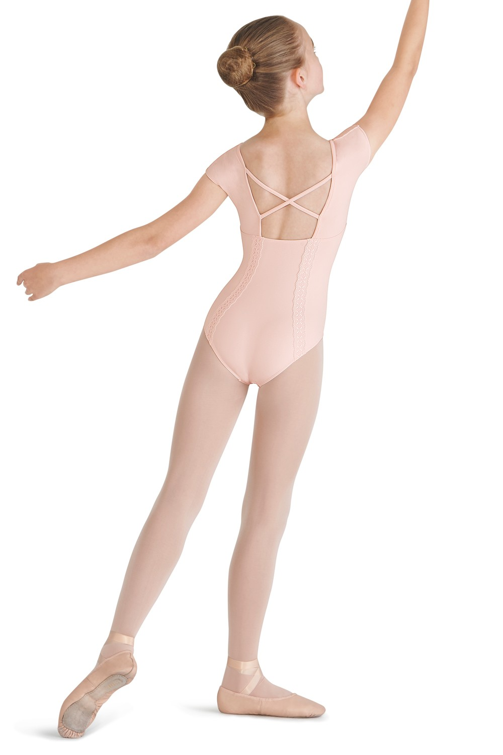 X Back Cap Sleeve Leotard Children's Dance Leotards