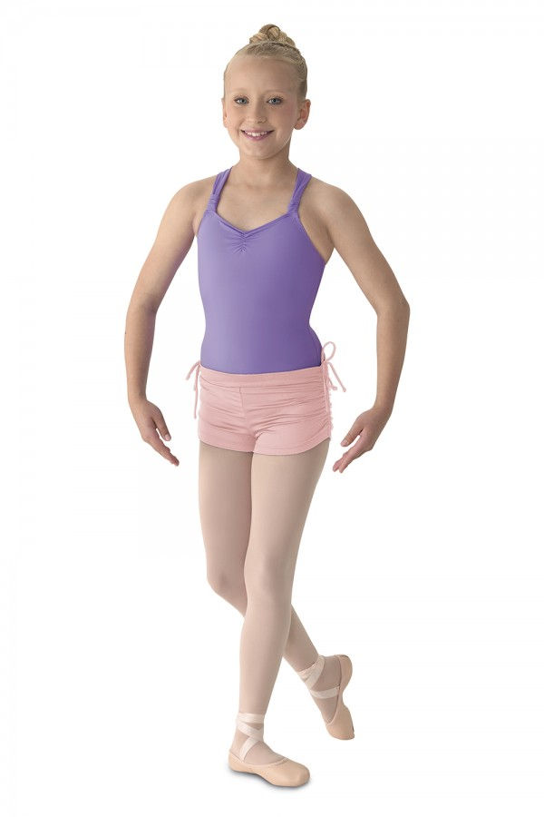 image - RUCHED SIDE SHORT Children's Dance Shorts
