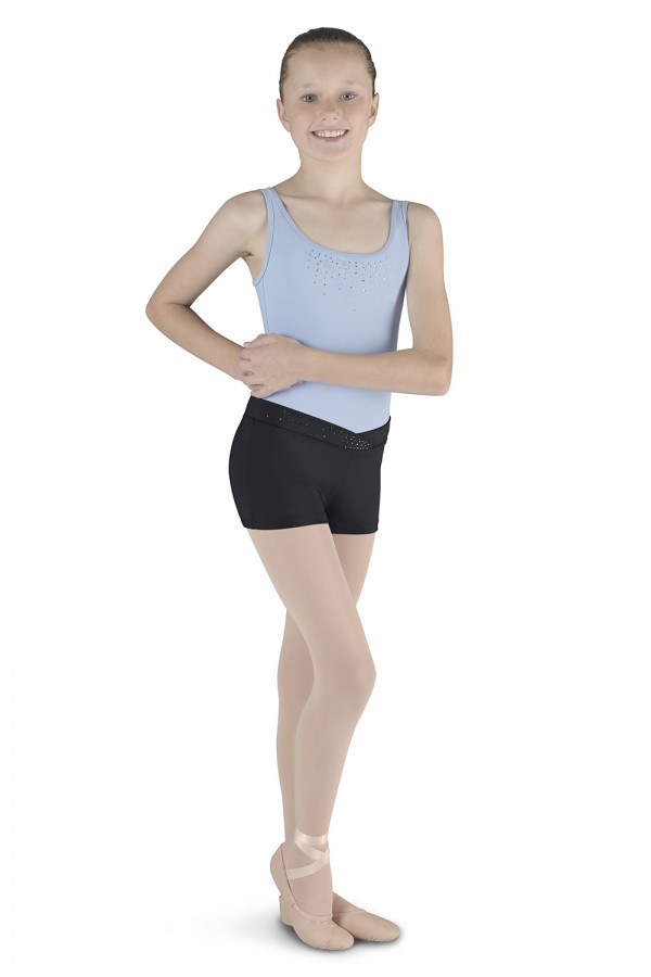 image - Short with Diamante Children's Dance Shorts