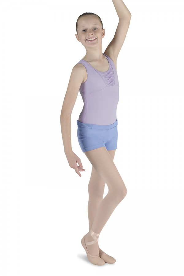 image - PINCH PLEAT SHORT Children's Dance Shorts