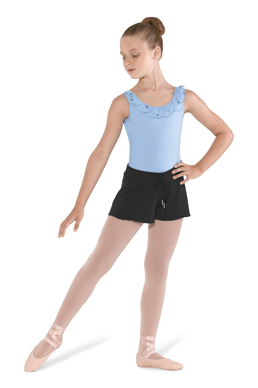 Drawcord Short Children's Dance Leotards