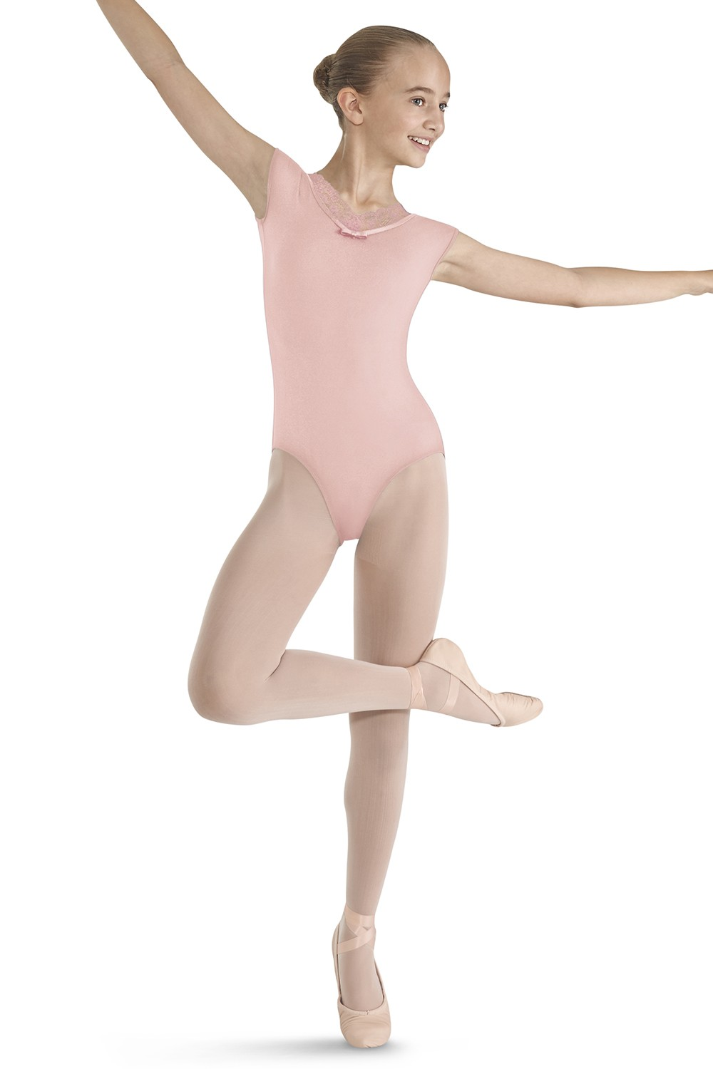 Girls Short Sleeve Leotards