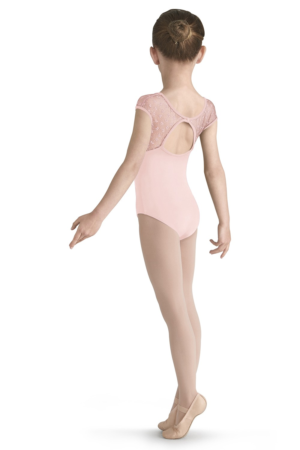 Bow Flock Yoke Leo Children's Dance Leotards