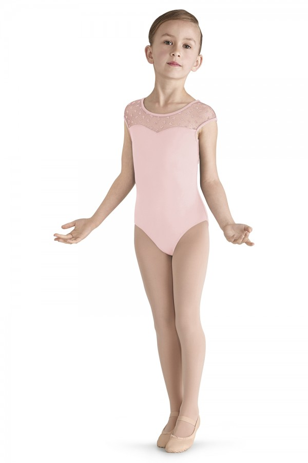 image - Bow Flock Yoke Leotard Children's Dance Leotards