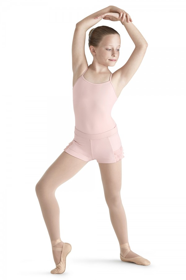 image - Pleated Tulle Short Children's Dance Shorts