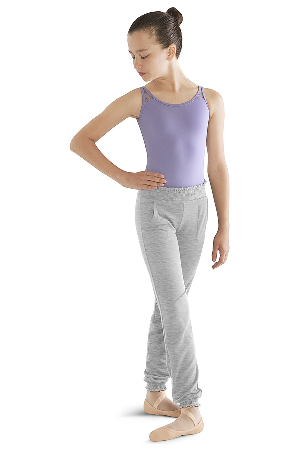 Shirred Hem Pant Children's Dance Pants