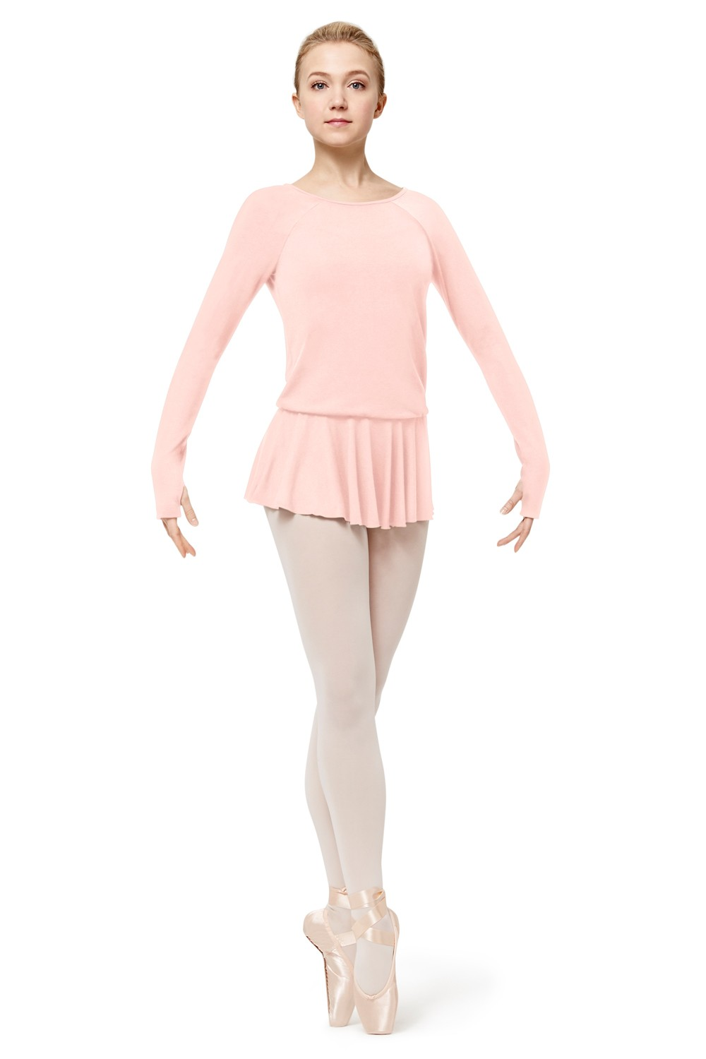 Long Sleeve Dress Women's Dance Leotards