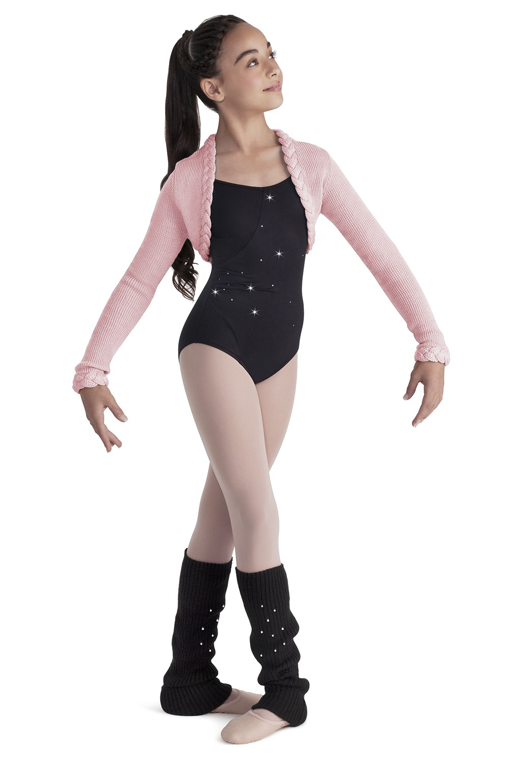 Girls Bolero Children's Dance Tops