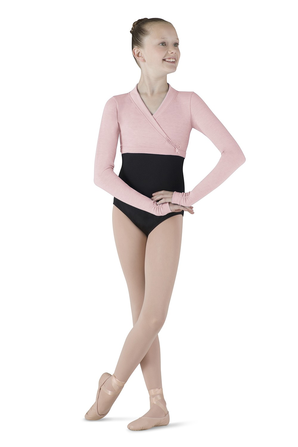 Dragonfly Wrap Top Children's Dance Leotards