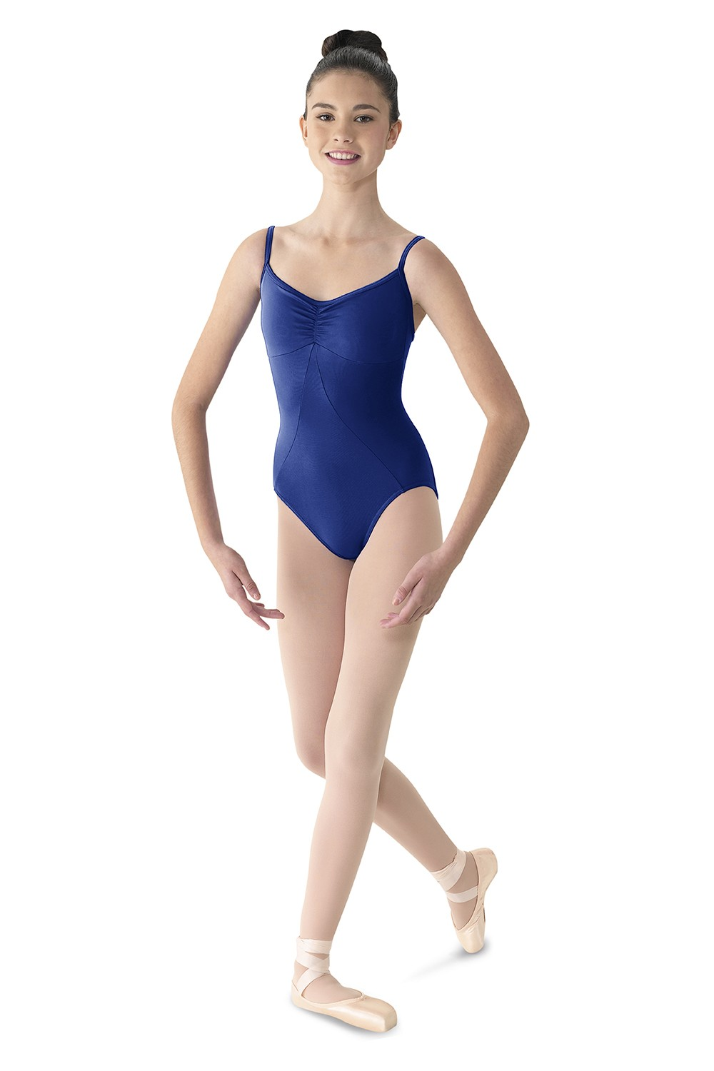 Maillot Camisola Con Escote De Diamantes Women's Dance Leotards
