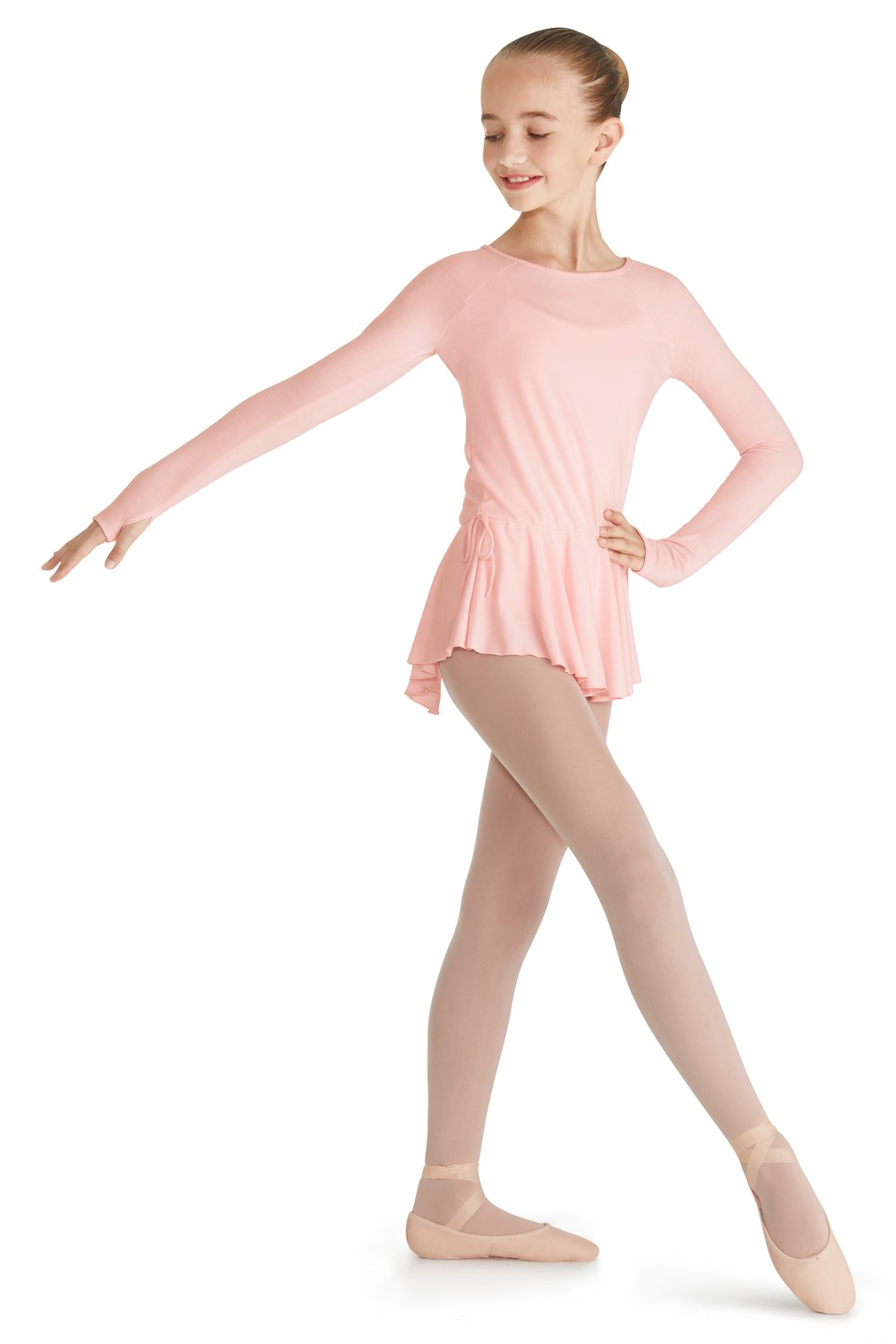 Long Sleeve Dress Children's Dance Leotards