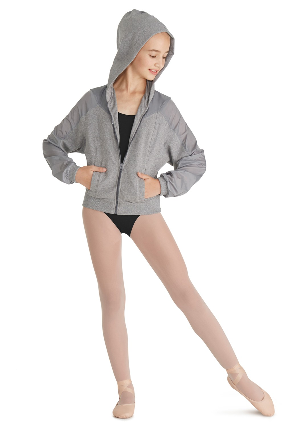 Zip Front Jacket Children's Dance Tops