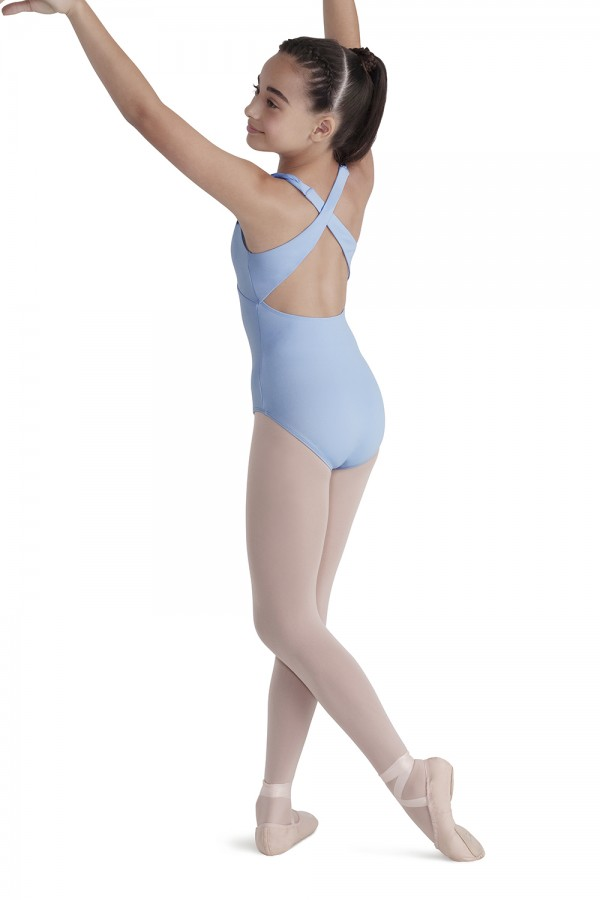 image - CROSS BACK HALTER Children's Dance Leotards