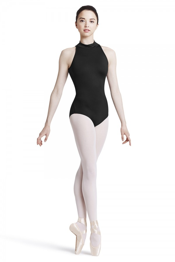 image - High neck zip back leotard Women's Dance Leotards