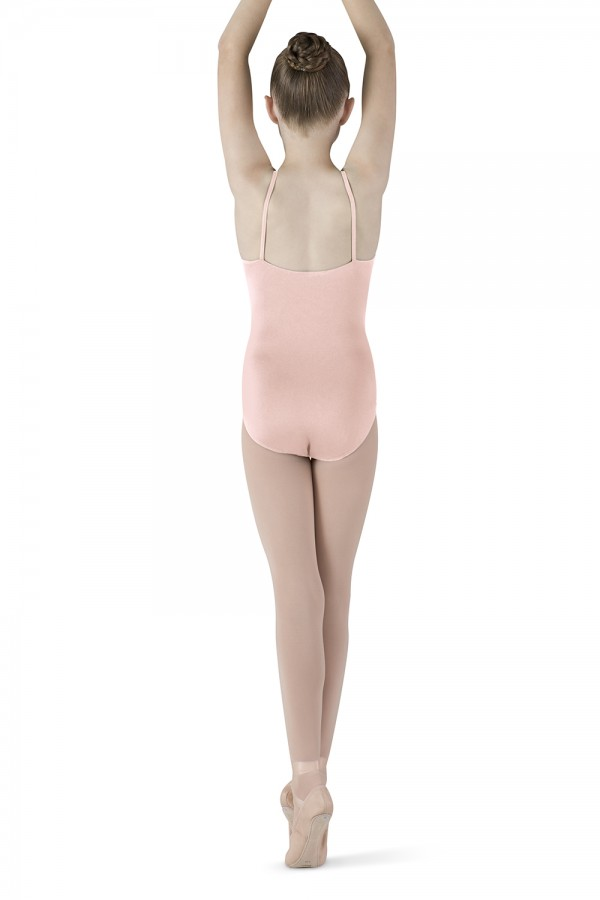 image - Diamante Swirl Halter Children's Dance Leotards