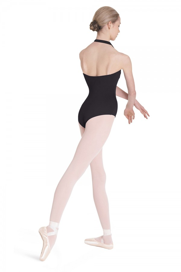 image - Halter Leotard Women's Dance Leotards